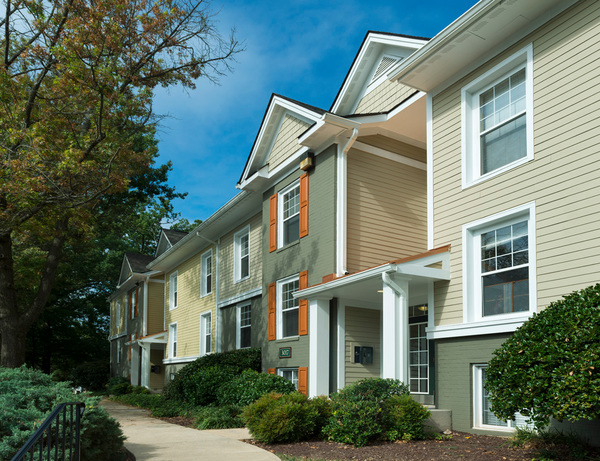 exterior at Ellicott Grove Apartments