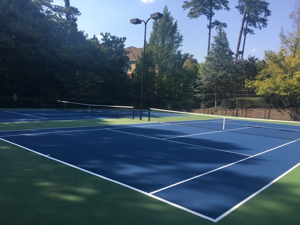 sport court at The Flats at North Springs