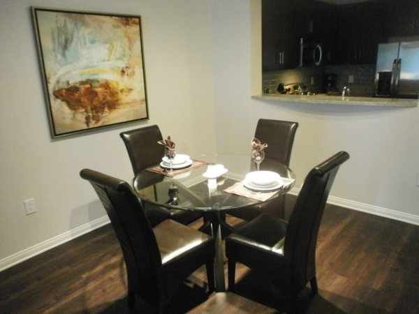 dining room at Legacy at Westwood Apartments