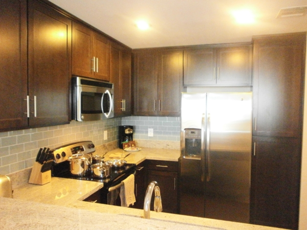 kitchen at Legacy at Westwood Apartments
