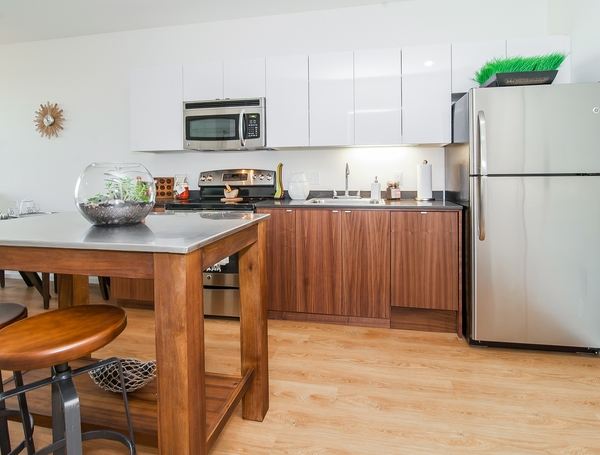 kitchen at The Emery Apartments