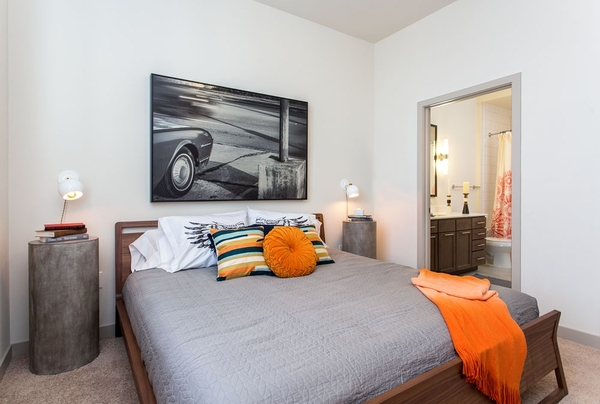 bedroom at Agave Apartments