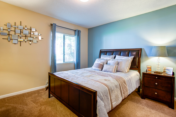 bedroom at Lakeshore at Altamonte Springs Apartments