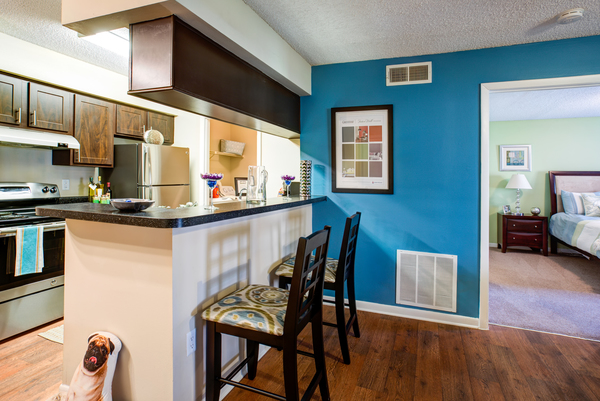 kitchen at Lakeshore at Altamonte Springs Apartments