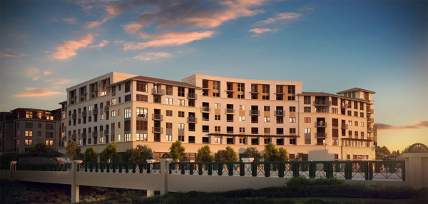 renderings at Elan Redwood City Apartments