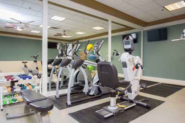 fitness center at Destinations Alexander Apartments