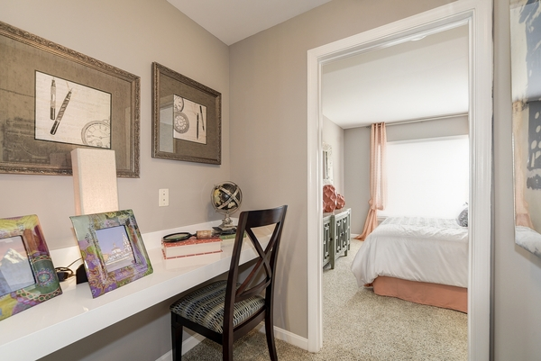 bedroom at Huntington at King Farm Apartments