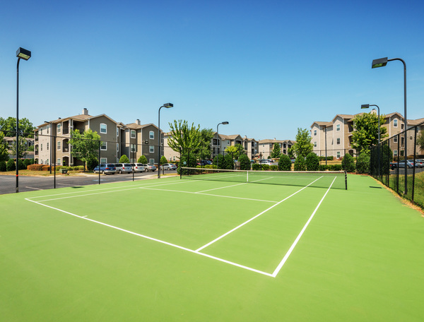 tennis court at The Vinoy at Innovation Park Apartments