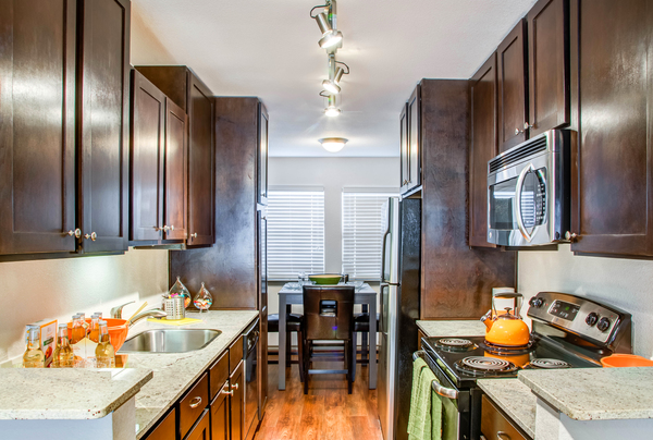 kitchen at Reserve at Garden Oaks Apartments