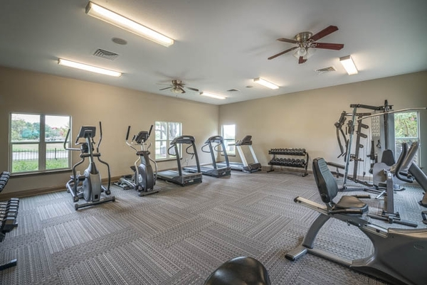 fitness center at Sedona Canyon Apartments