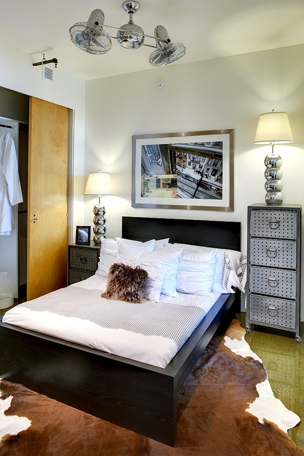 bedroom at Potrero Launch Apartments