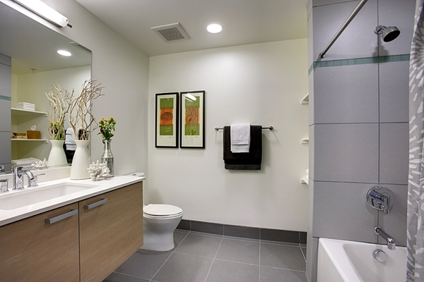 bathroom at Potrero Launch Apartments