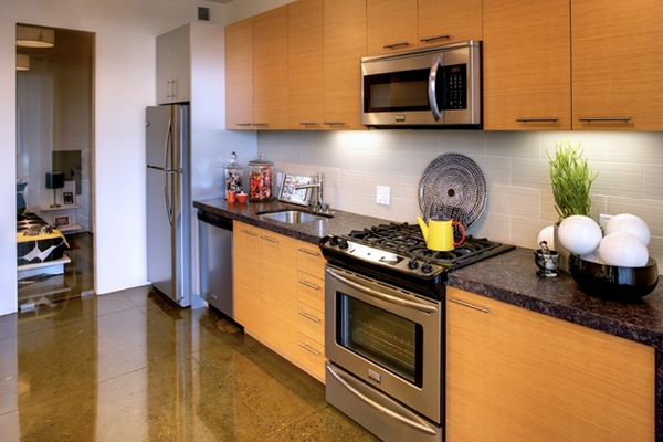 kitchen at Potrero Launch Apartments