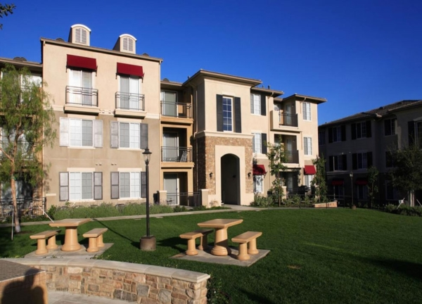 exterior at The Heights at Chino Hills Apartments
