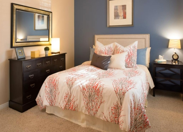 bedroom at The Heights at Chino Hills Apartments