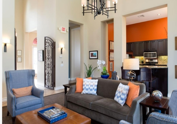 clubhouse at The Heights at Chino Hills Apartments