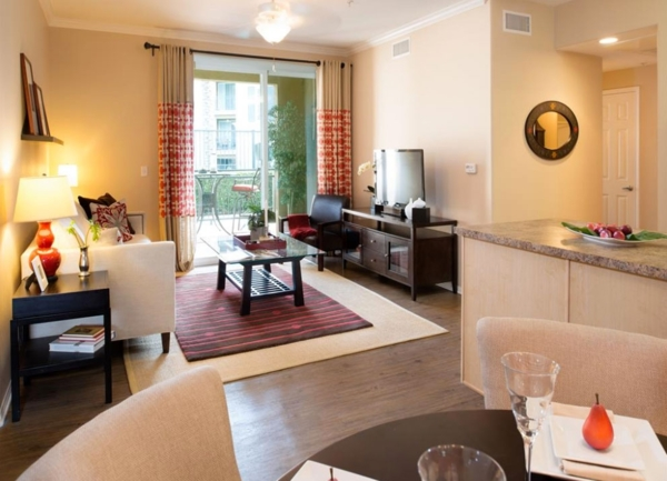 dining room at The Heights at Chino Hills Apartments