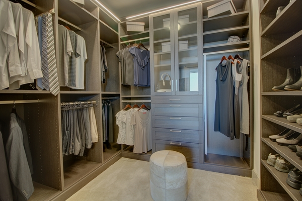 closet at The Southmore Apartments