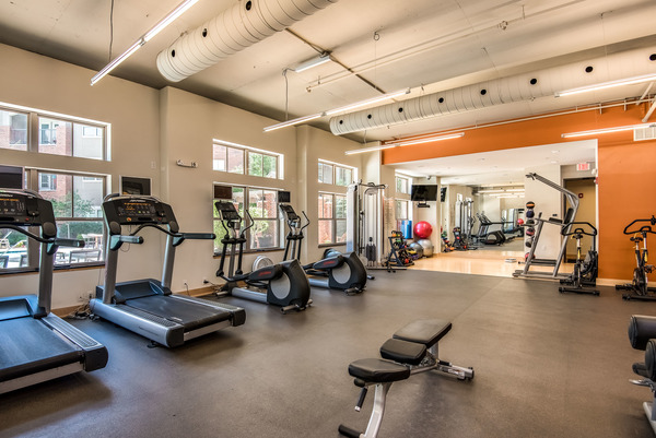 fitness at The Village at Mission Farms Apartments