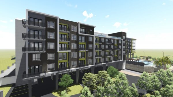 rendering at Infinity at the Rim Apartments