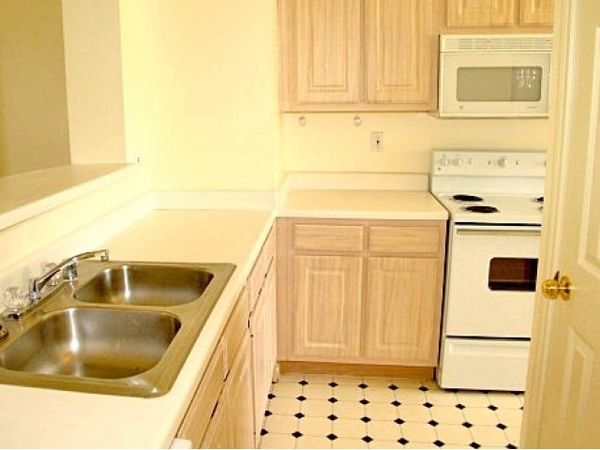kitchen at Plaza at River Oaks Apartments