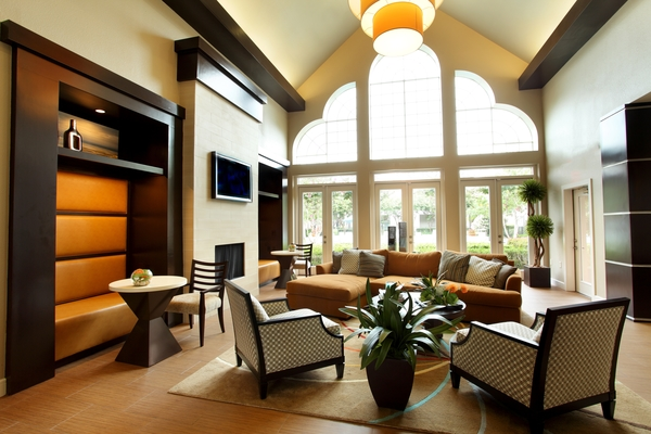 clubhouse at Richmond Towne Homes Apartments