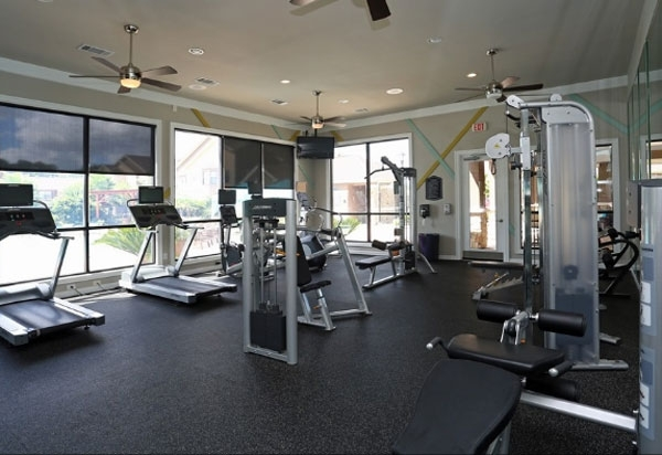 fitness room at Waterstone Apartment Homes