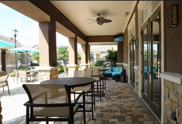 patio at Waterstone Apartment Homes
