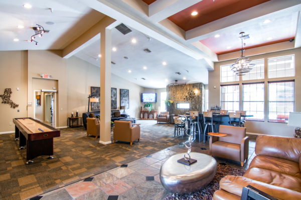 clubhouse at Estancia at City Center Apartments