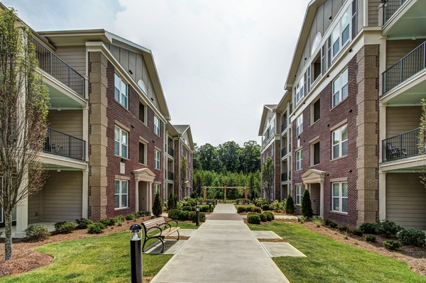 exterior at Alexander Village Apartments