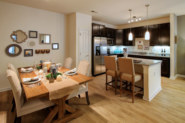 dining room at Alexander Village Apartments