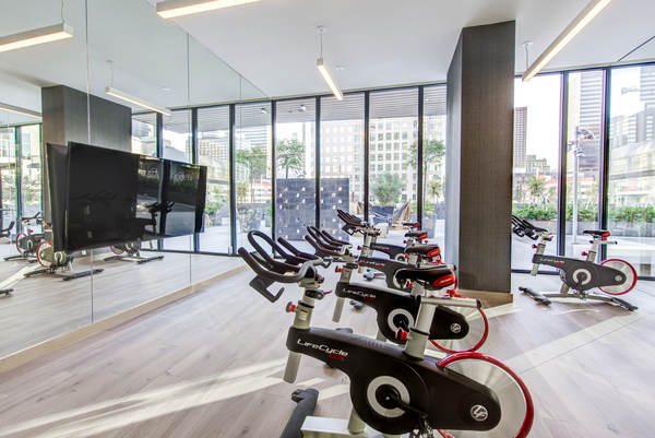 spin studio at Atelier Apartments