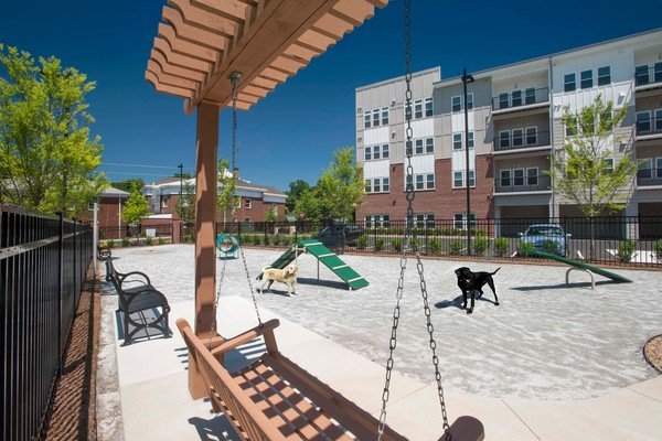 dog park at Alexan East Atlanta Village Apartments