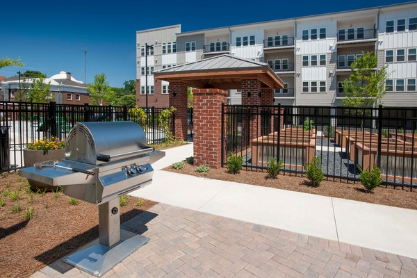 grill area at Alexan East Atlanta Village Apartments