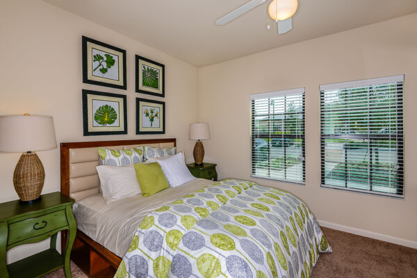 bedroom at Sanctuary at West Port Apartments