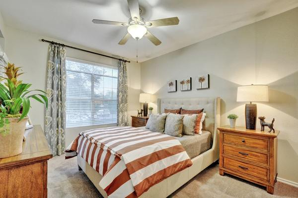 bedroom at Creekstone Apartments