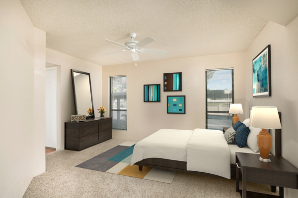 Bedroom at Avana at the Pointe Apartments