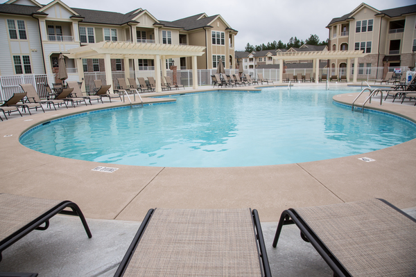 pool at The Reserve at Ellis Crossing Apartments