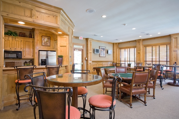clubhouse at Villas at Stone Oak Ranch