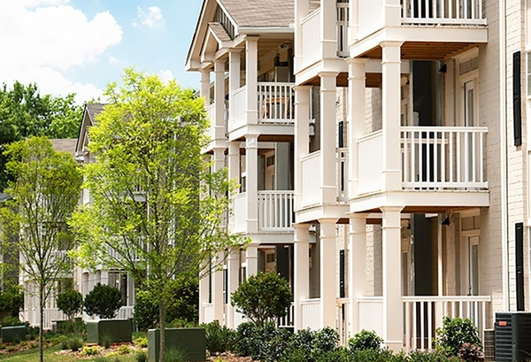 exterior at The Bristol Apartment Homes