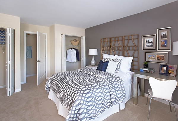 bedroom at The Bristol Apartment Homes