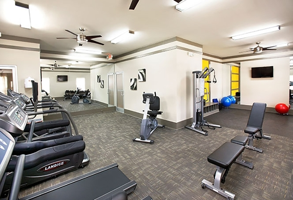 fitness center at The Bristol Apartment Homes