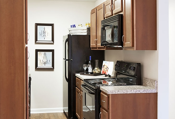 kitchen at The Bristol Apartment Homes