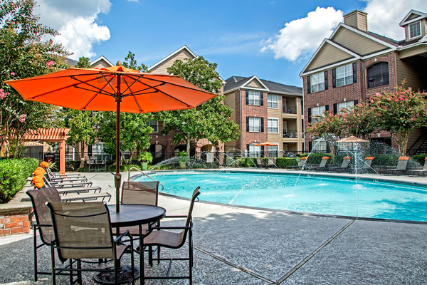 pool at Plaza at Westchase Apartments
