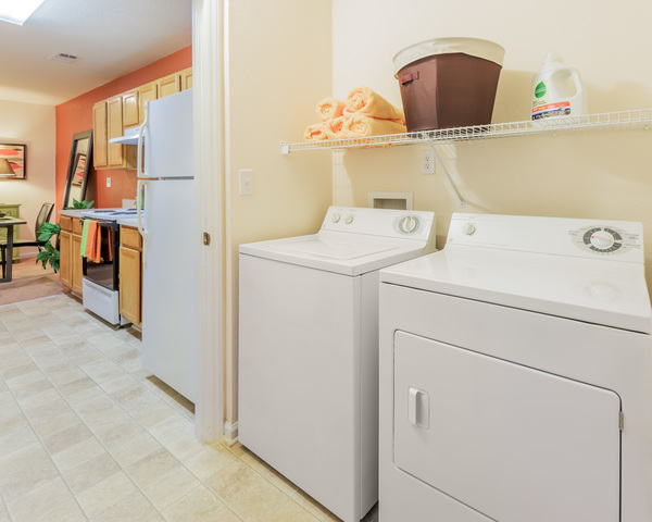 laundry room at Courtney Ridge Apartments