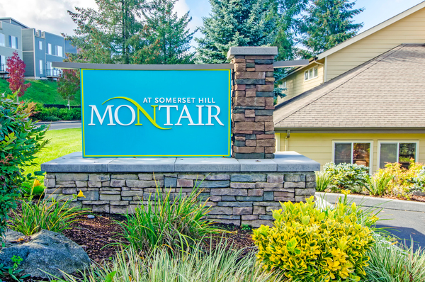 signage at Montair at Somerset Hill Apartments