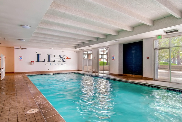 indoor pool at Lex at Lowry Apartments