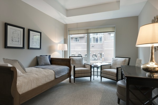 bedroom at The Lakes Residences Apartments