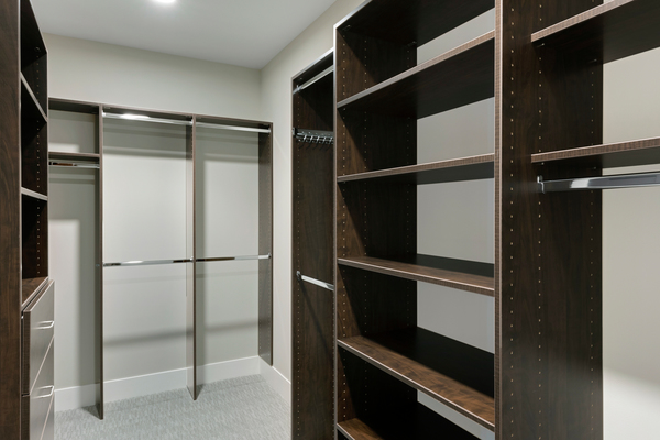 closet at The Lakes Residences Apartments