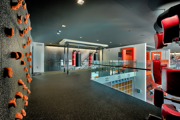 fitness center at The TOMSCOT
